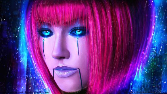 Обои Bladecraft Orianna - the Lady of Clockwork / Орианна из игры Лига Легенд / League of Legends by MagicnaAnavi