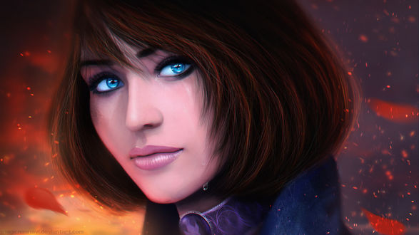 ���� �������� �������� / Elizabeth �� ���� ������ / BioShock Infinite, by MagicnaAnavi