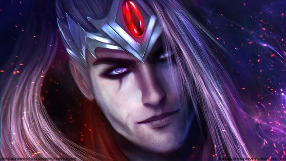 Обои Varus - the Arrow of Retribution / Варус - Стрела Возмездия из игры Лига Легенд / League of Legends, by MagicnaAnavi