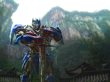 Обои Transformers age of extinction transformers 4