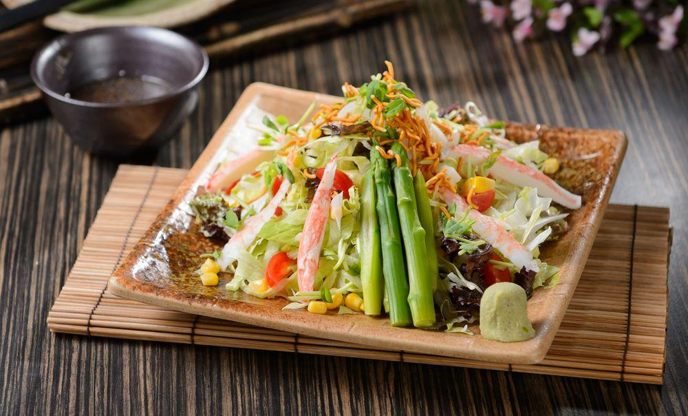 японский салат картинки