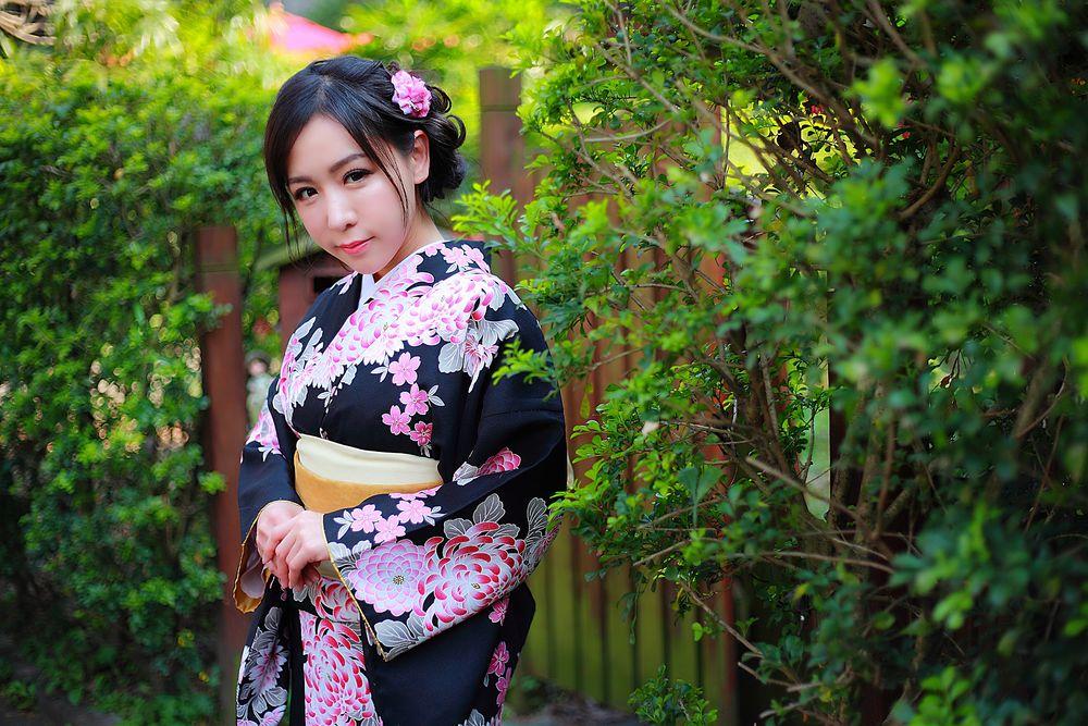 японочки в кимоно фото