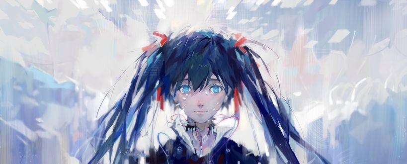 Обои Арт Вокалоид Хатсуне Мику / vocaloid Hatsune Miku