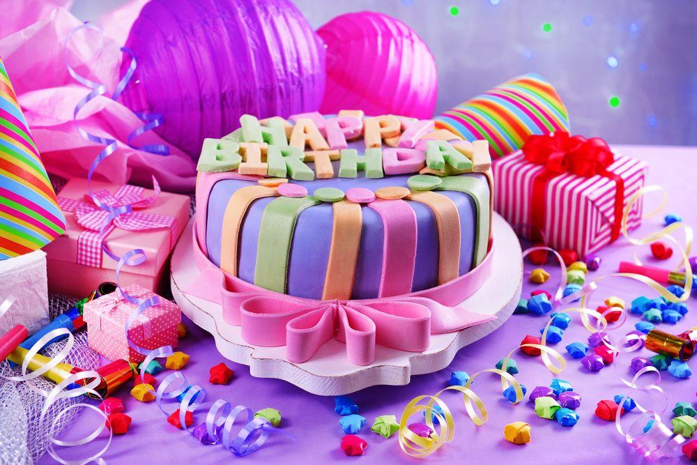 с днём рождения фото тортик