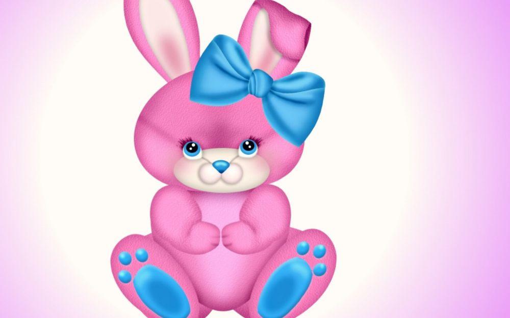 это розовый зайчик картинка как всем известно