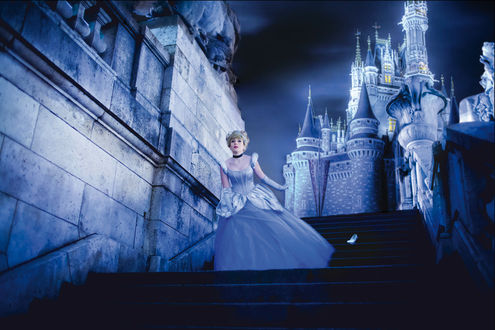 Обои Косплей Золушка / Cinderella из мультфильма Золушка / Cinderella, by NikitaCosplay