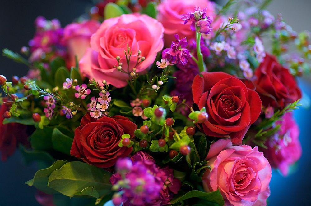 обои букеты роз на рабочий стол