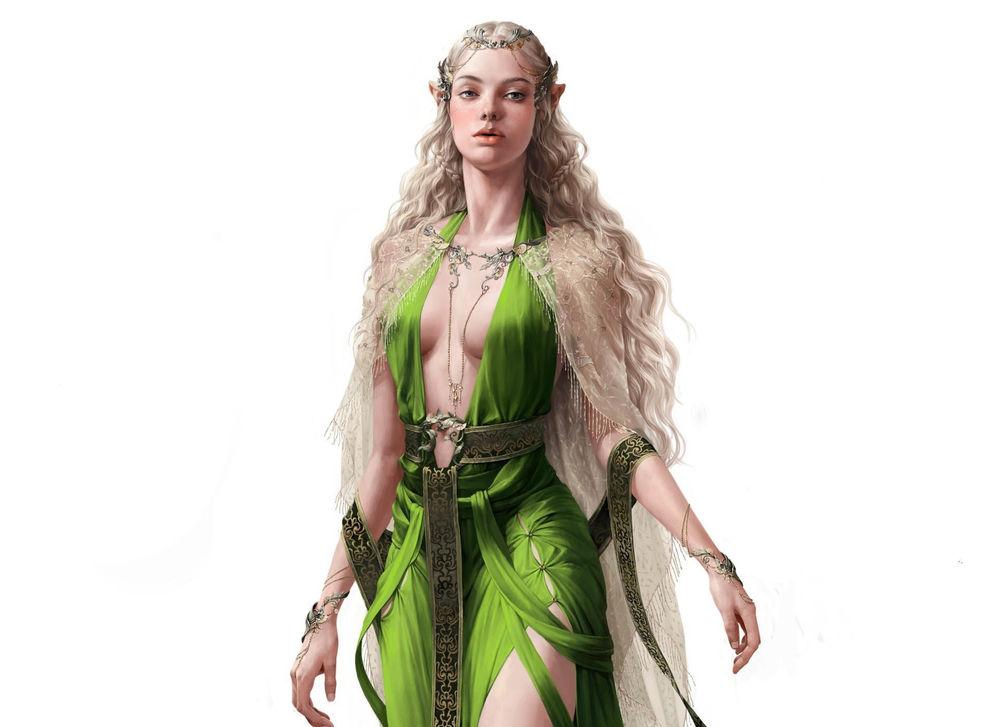 Девушки в зелёной одежде фото 177-357