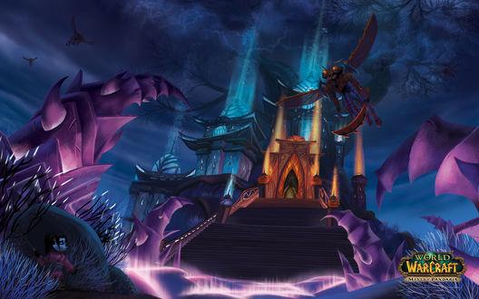 Обои Жуткие пустоши / арт на игру World of Wacraft