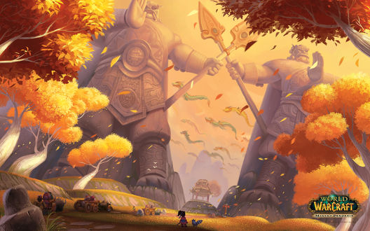 Обои Вечноцветущий дол / арт на игру World of Wacraft