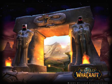 Обои Темный Портал / арт на игру World of Wacraft