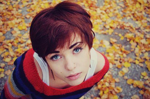 Фото девушек с короткой причёской