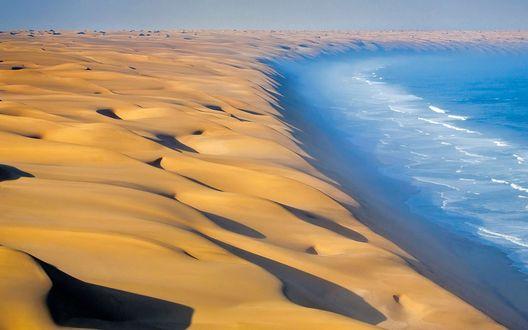 Обои Намибия, побережье Атлантического океана в Африке
