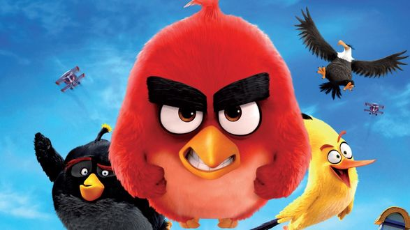 Обои Angry Birds - постер мультфильма