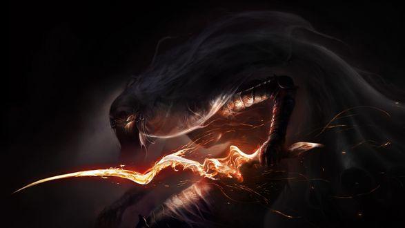 Обои Dark Souls III Монстры фоновые заставки
