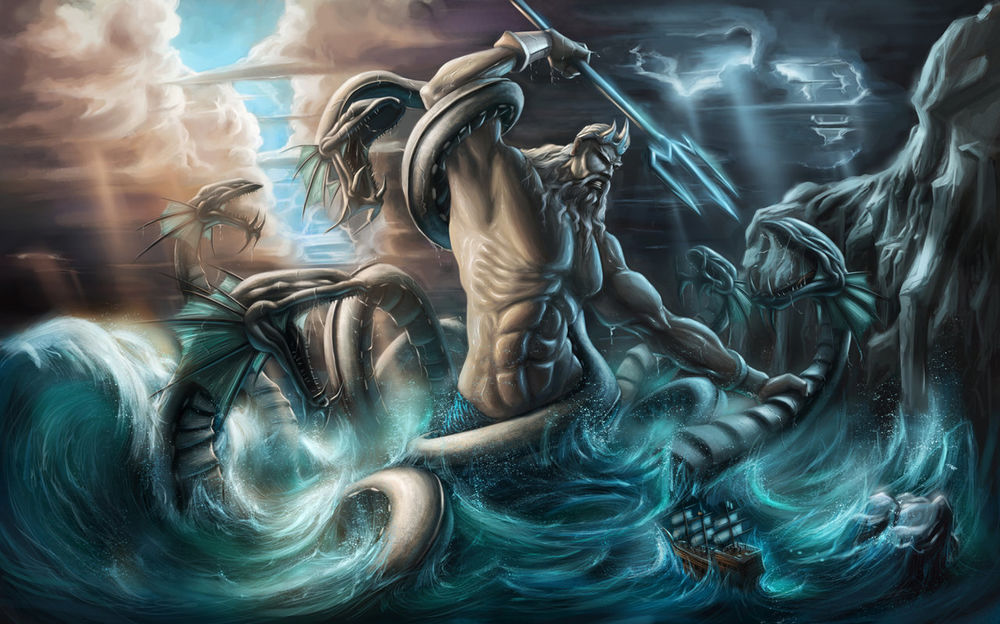 Картинки по запросу бог нептун