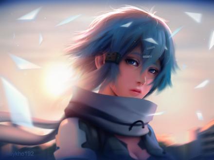���� ���� ����� (�����) / Shino Asada (Sinon) �� ����� ������� ���� ������ II / Sword Art Online II by huykho192