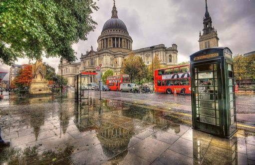 ���� England, UK, London, St Pauls Cathedral / ������, ������, ����, ����� ������� ����� ����� �����
