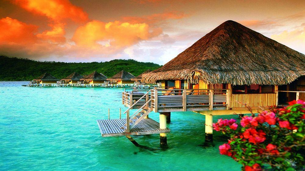 Картинки по запросу Bora Bora Bungalow, Бора Бора