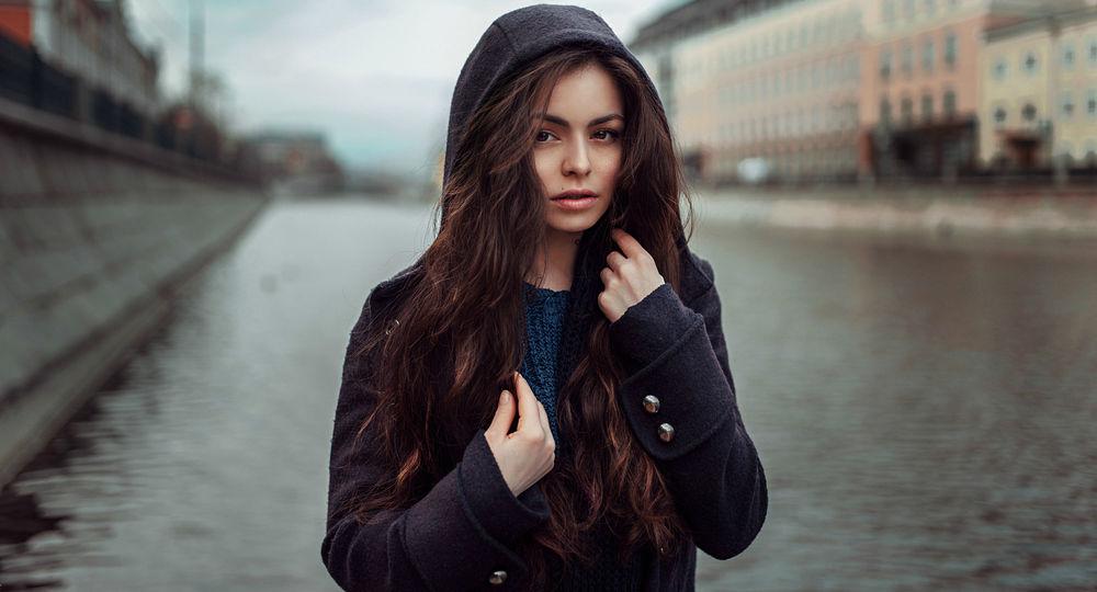 Девушка тёмный волосочки фото фото 175-702