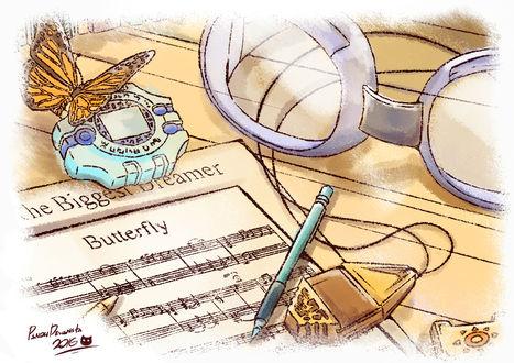 Обои Арт к аниме Digimon Adventure / Приключения Дигимонов, art by Pixiv Id 13324948