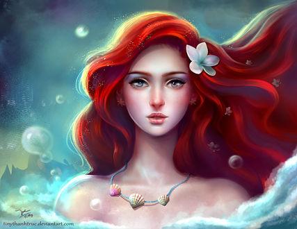 Обои Ariel - Disney Princess / Ариэль - Диснеевская принцесса, by TiNyThanhTruc