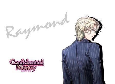 Обои Raymond Davis из аниме Confidential money, art by Takeshi Kiriya
