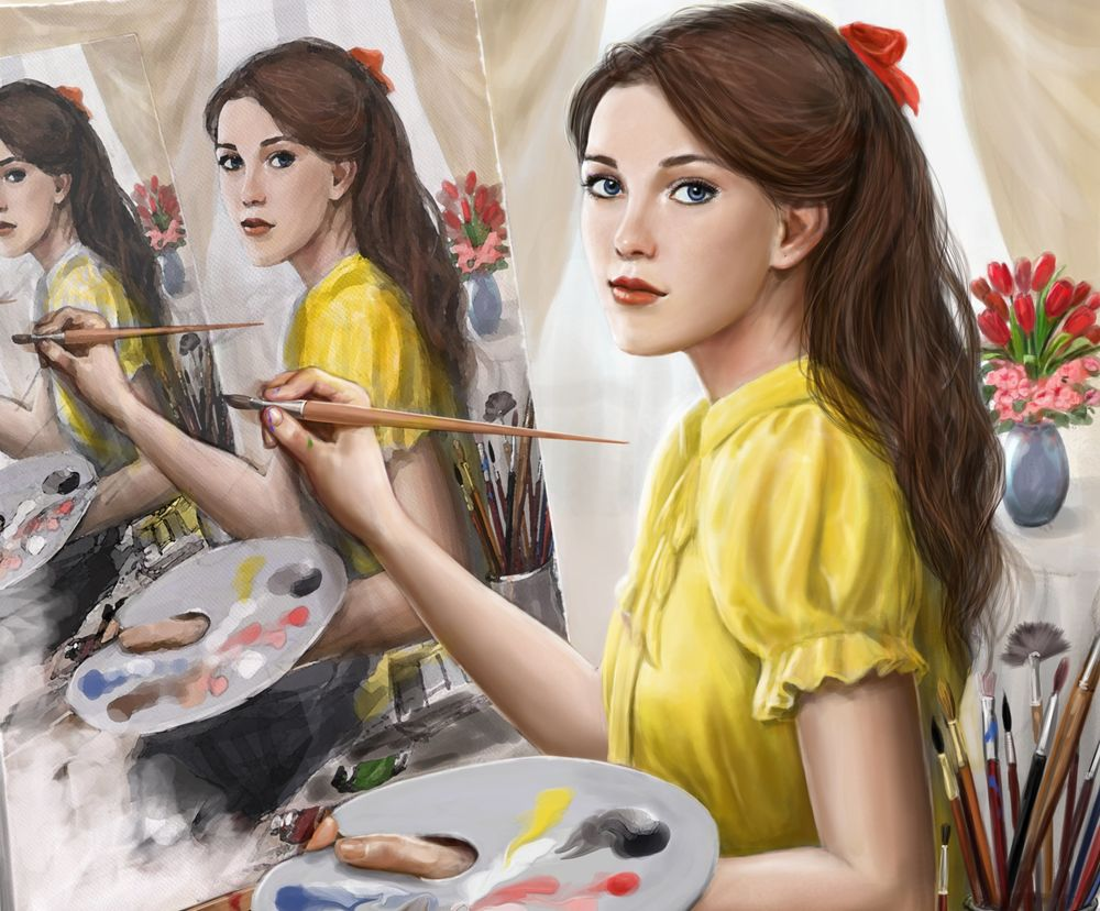 важно картинка или рисунок профессии художник всего сделать веранде
