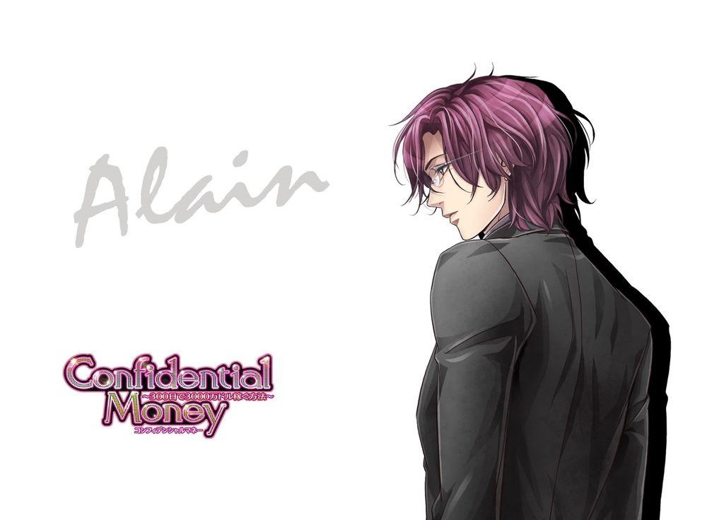 Обои для рабочего стола Alain Morris из аниме Confidential money, art by Takeshi Kiriya