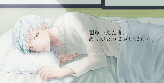 Обои Ichigo Hitofuri / Ичиго Хитофури из игры Touken Ranbu, art by Pixiv Id 4825903