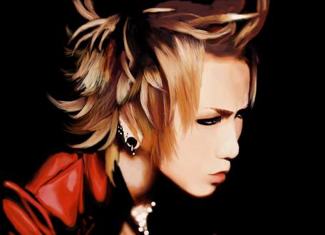 Обои Ruki / Руки-участник японской visual kei рок-группы The GazettE