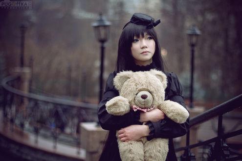 Обои Косплей Shionji Yuuko / Юко Сиондзи из аниме Блокнот Бога / Kamisama no Memo-chou, by oOoButa-kuNoOo