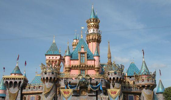 Обои Замок спящей красавицы, Диснейленд