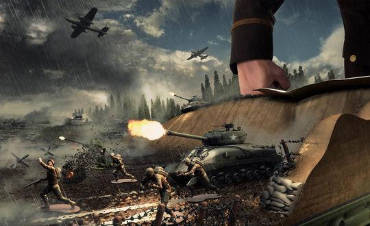 Обои Рисунок Второй Мировой Войны
