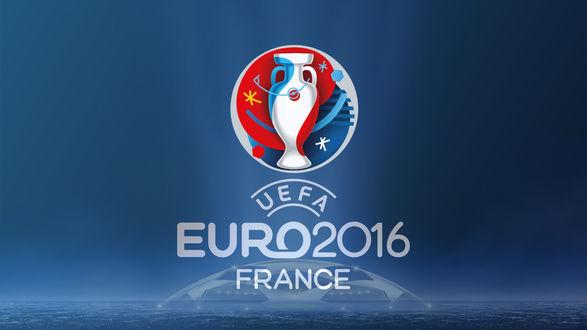 Обои Логотип кубка Euro 2016 проходящего во Франции