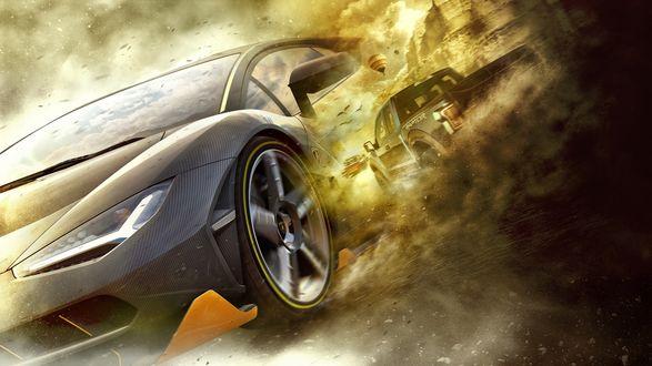 Обои Сюжет гонок из видеоигры в жанре автогонок Forza Horizon 3