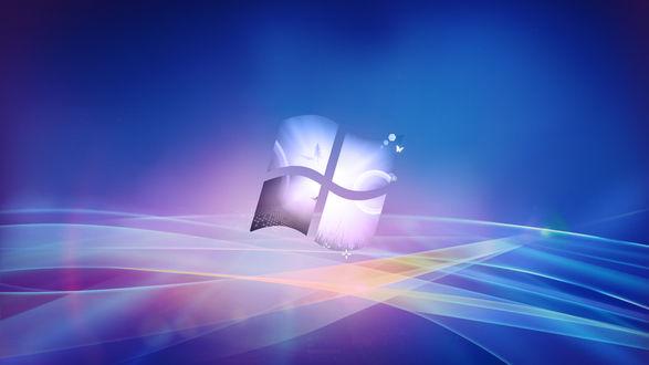 Обои Логотип операционной системы Windows