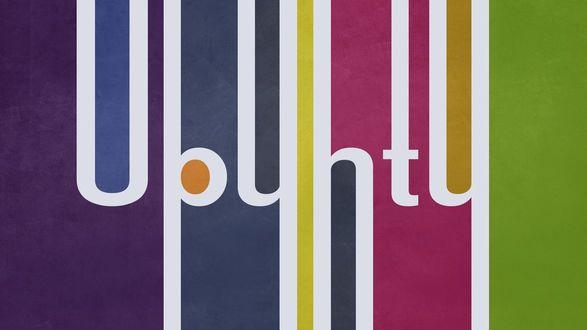 Обои Логотип ОС Ubuntu