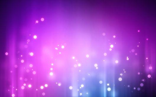 Обои Блики на фиолетовом фоне