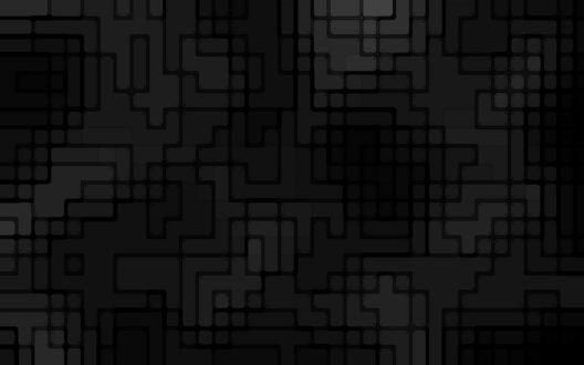 Обои Темная мозаичная структура