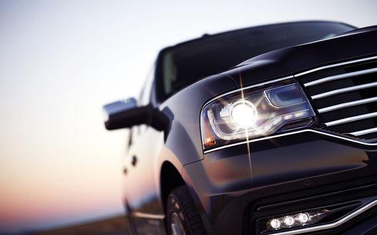 Обои Автомобиль Lincoln Navigator 2015 крупным планом