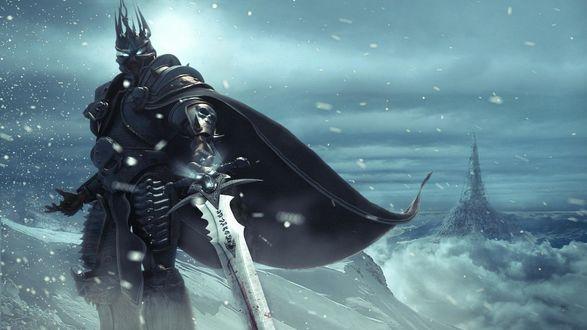 Обои Арт к игре Warcraft / Военное ремесло