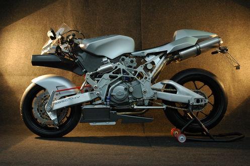 Обои Мотоцикл Ducati Vyrus 985C3 4V / Дукати Вирус