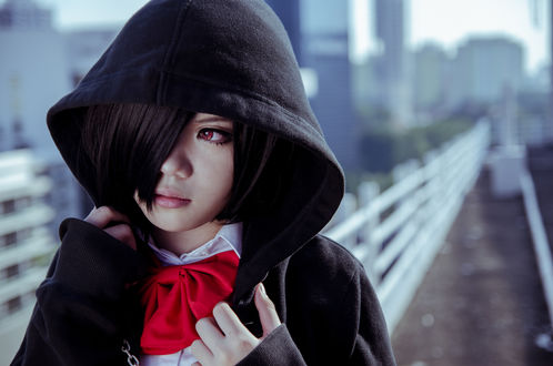 Обои Косплей Touka Kirishima / Тока Кирисима из аниме Tokyo Ghoul / Токийский Гуль, by EatEatEats