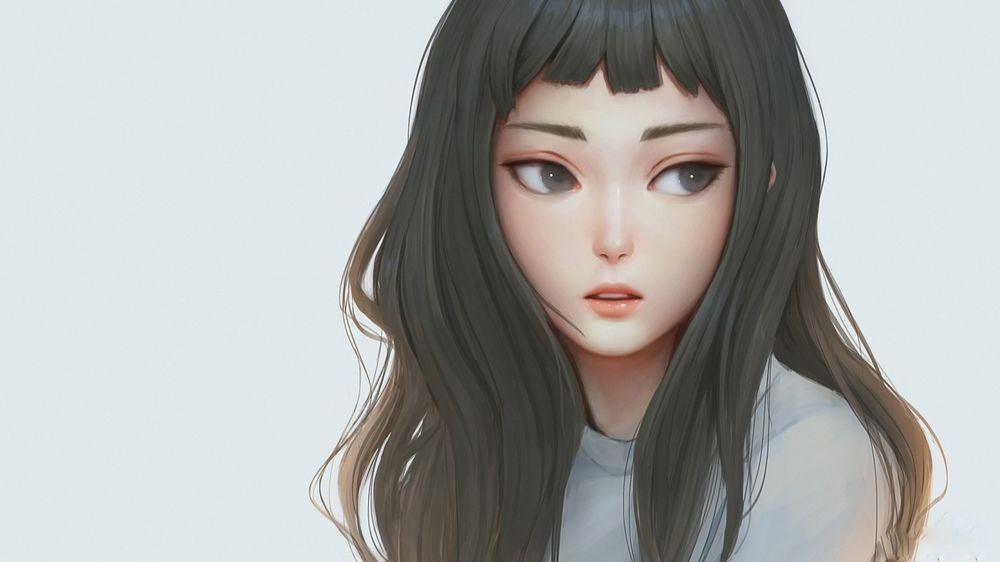 Фото девушек с серыми волосами