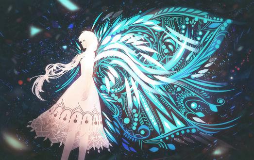 Обои Девушка с крыльями, by bounin