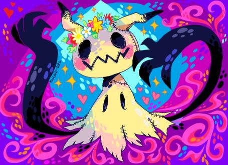 Обои Разноцветный покемон, by Koolaid-Girl