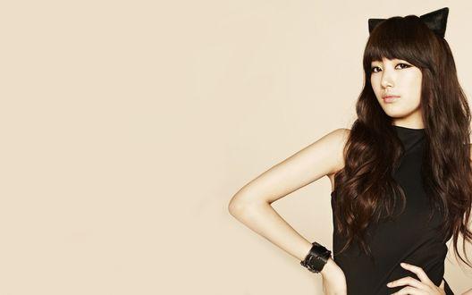 Обои Южно-корейская певица, актриса и модель Suzy / Сюзи / Bae Soo Ji / Пэ Су Чжи