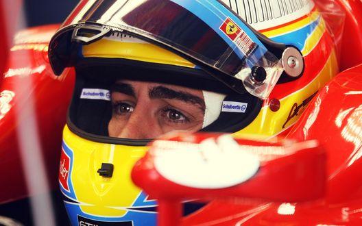 Обои Фернандо Алонсо Диас / Fernando Alonso Díaz — испанский автогонщик, двукратный чемпион мира серии Формула-1