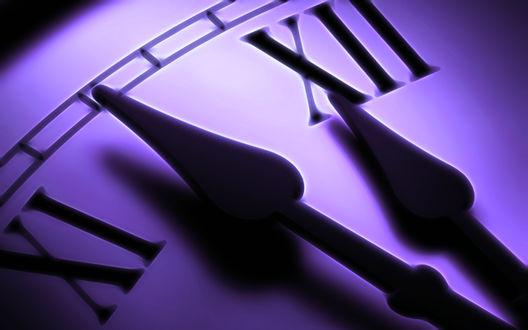 Обои Часы приближаются к полуночи